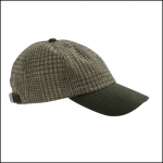Hoggs of Fife Invergarry Tweed Baseball Cap