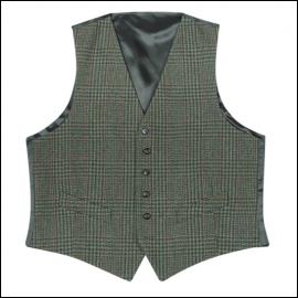 Hoggs of Fife Invergarry Tweed Dress Waistcoat 1