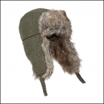 Hoggs of Fife Invergarry Tweed Trapper Hat 1