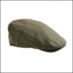 Hoggs of Fife Invergarry Waterproof Tweed Flat Cap