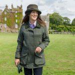 Hoggs of Fife Ladies Albany Tweed Shooting Coat