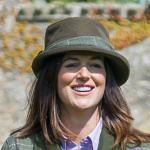 Hoggs of Fife Ladies Albany Tweed Twist Waterproof Hat 2
