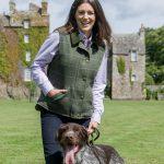 Hoggs of Fife Ladies Albany Tweed Waistcoat 2