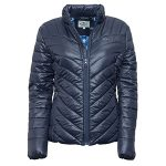 Hoggs of Fife Ladies Wilton Super Lightweight Padded Jacket Navy 1