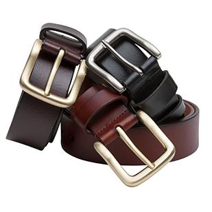 Hoggs of Fife Luxury Dark Brown Leather Belt 1