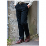 Hoggs of Fife Moleskin Navy Trousers 1