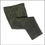 Hoggs of Fife Moleskin Trousers Dark Olive 1