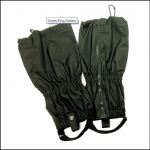 Hoggs of Fife Waxed Green King Gaiters 1