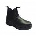 Hoggs Black Safety Dealer Boot
