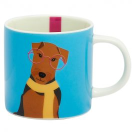 Joules Blue Airedale Cuppa Mug