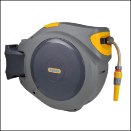 Hoselock 2402 Wall Mounted Auto Reel with 25m Hose 1