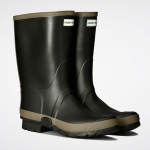 Hunter Men's Dark Olive-Clay Wellington Boots 2
