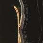 Hunter Norris Black-Orange Side Adjustable Field Boot 2