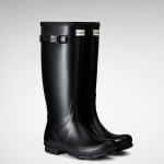 Hunter Norris Black Gloss Field Boot