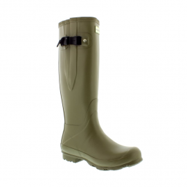 Hunter Norris Side Adjustable Field Boot Moor Green
