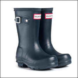 Hunter Original Kids' Wellington Boots Navy