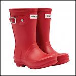 Hunter Original Kids' Wellington Boots Red 1