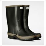 Hunter Women's Dark Olive-Clay Wellington Boots 2