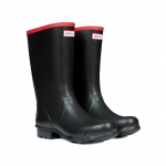 Hunter Argyll Short Black Wellies