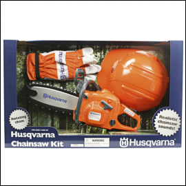 Husqvarna Childrens Battery Operated Toy Chain Saw Kit
