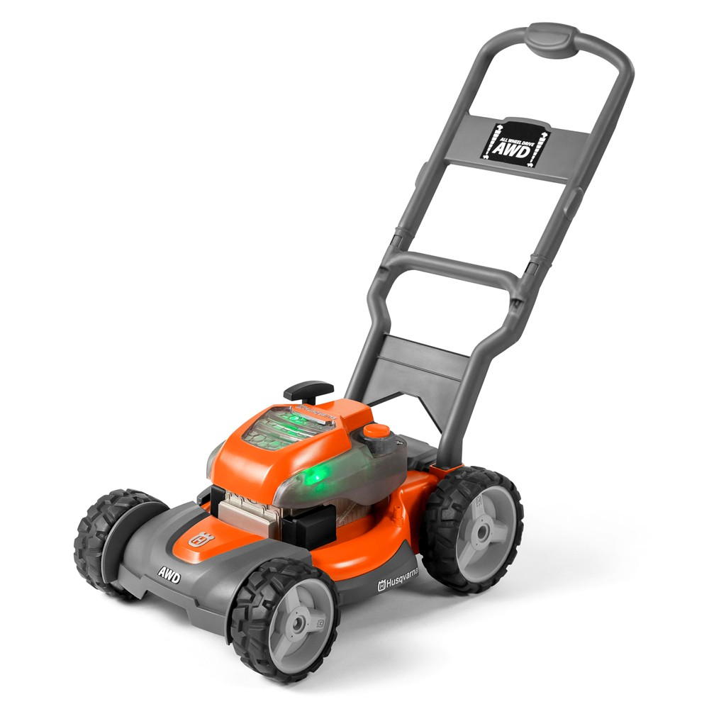 Husqvarna Childrens Battery Operated Toy Lawn Mower