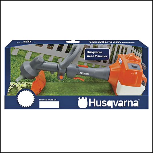 Husqvarna Childrens Battery Operated Toy Weed Trimmer