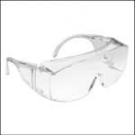 JSP Martcare M9300 Overpec Clear Lens Safety Glasses 1