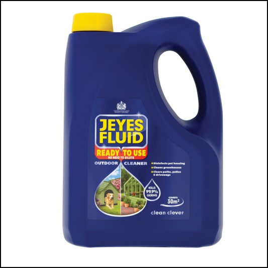Jeyes Fluid Ready To Use Outdoor Cleaner 4L 1