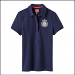 Joules Amity French Navy Slim Fit Polo Shirt