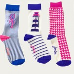 Joules Bamboo 3pk Neon Candy Socks