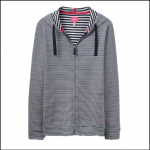 Joules Beachside French Navy Stripe Sweatshirt 1