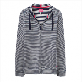 Joules Beachside French Navy Stripe Sweatshirt 1