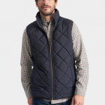 Joules Bradwell Marine Navy Quilted Gilet 2