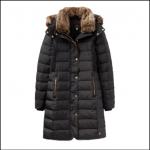 Joules Caldecott Black Padded Coat