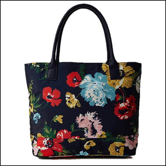 Joules Cariwell French Navy Posy Bag 1