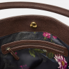 Joules Chesham Green Check Tweed Slouch Bag 2