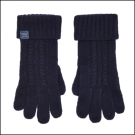 Joules Clark French Navy Gloves 1