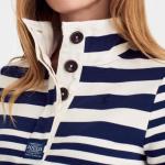 Joules Classic Cowdray Humbug Stripe French Navy Sweatshirt 2