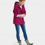 Joules Coast Bright Berry Waterproof Jacket 2