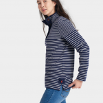 Joules Cowdray French Navy Stripe Sweatshirt 2