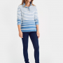 Joules Cowdray Light Indigo Ombres Saltwash Sweatshirt 2