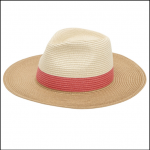 Joules Dora Natural Fedora Hat