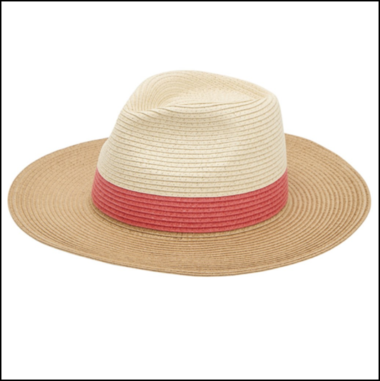 Joules Dora Natural Fedora Hat 1