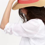 Joules Dora Natural Fedora Hat 2