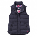 Joules Eastleigh Marine Navy Padded Gilet 1
