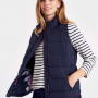 Joules Eastleigh Marine Navy Padded Gilet 3