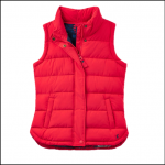 Joules Eastleigh Red Padded Gilet 1