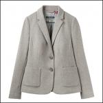 Joules Ellice Grey Multi Fleck Jersey Blazer 1