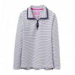 Joules Fairdale Navy Stripe Sweatshirt