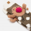 Joules Festive Fluffy Robin Socks 2